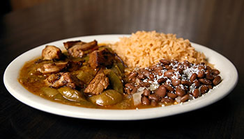 La Botana Mexican Restaurant Winston Salem Lunch Carnitas in Oregano